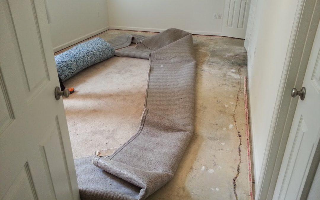 Water Damage Carpet Re-installation MD