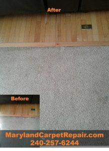 Silver Spring MD- Carpet Repair- Carpet Stretching